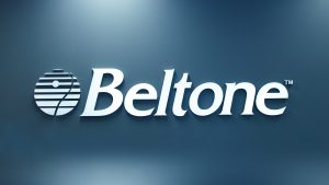 Beltone sign on wall