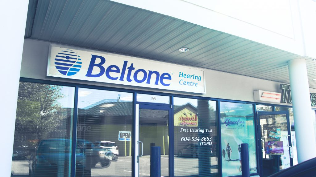 Outside Fraser Valley Beltone Hearing Clinic Langley